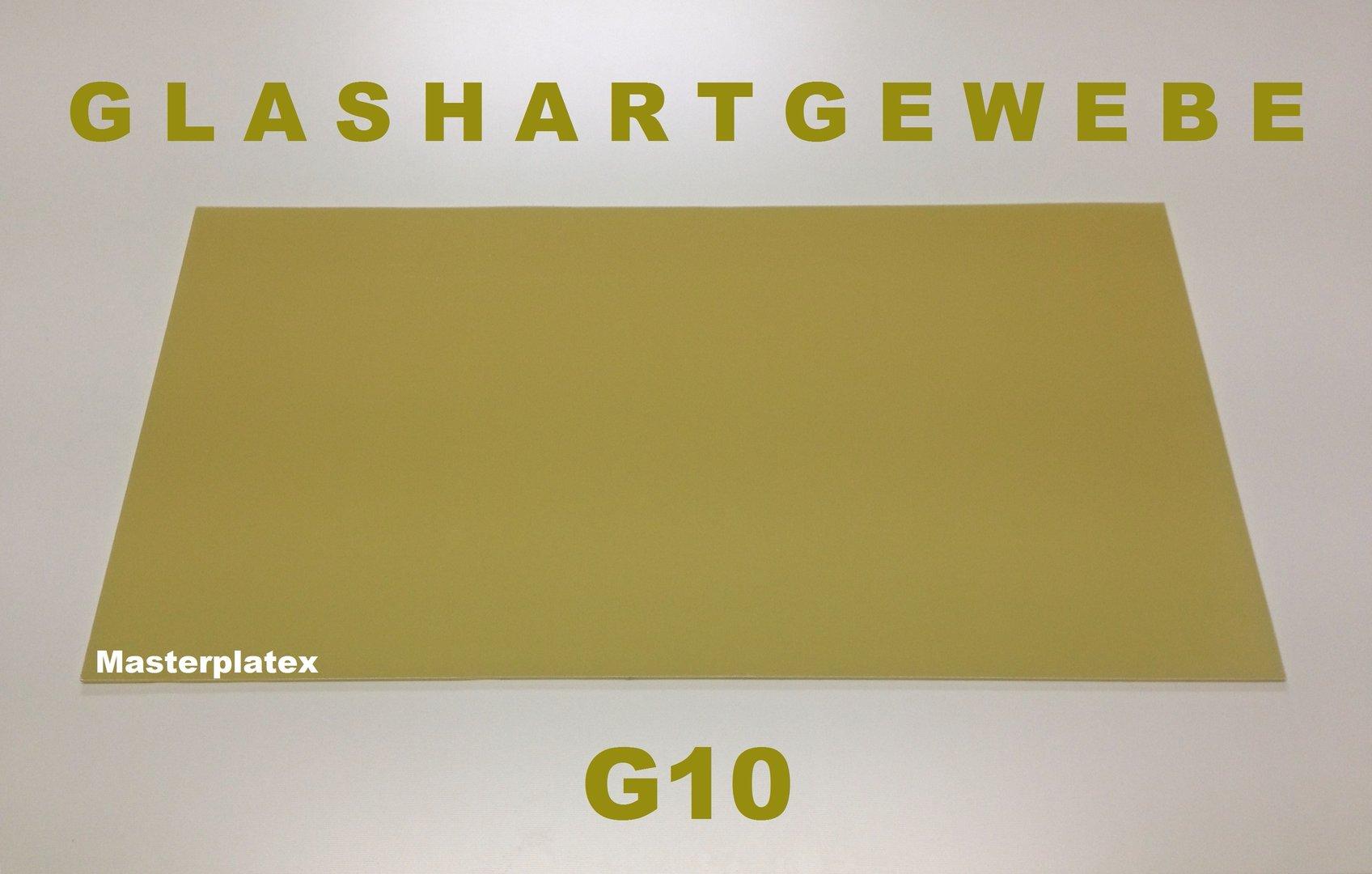 GFK Platte G10 Stärken von 0,5 bis 20,0 mm - Masterplatex - Ihr ...