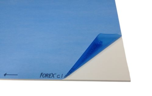 Forex PVC-sheets white 1,0 till19,0 mm thickness