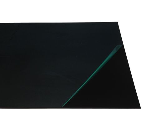 PVC-sheets black 3,0 till 8,0 mm thickness