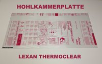 Lexan ® Thermoclear Plus multiwall sheet